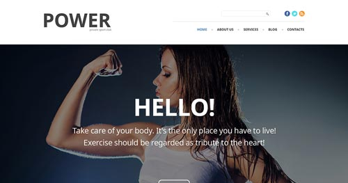 TM Power - Fitness Joomla Templates