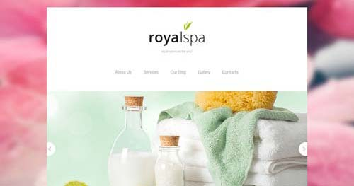 TM Royal Spa - Spa & Salon Joomla Templates