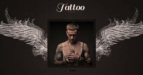 TM Tattoo - Spa & Salon Joomla Templates