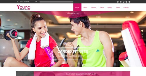Young Fitness - Fitness Joomla Templates