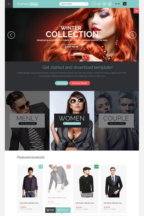 BT Fashion Joomla Theme