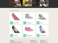 Hot Shoes Joomla Theme