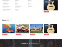TheClassifieds Joomla Theme