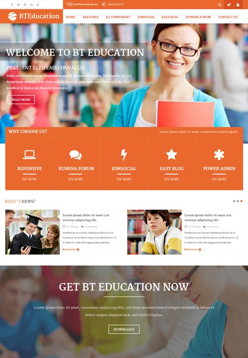 Bt education a premium nonprofit joomla theme free download bt education joomla theme maxwellsz
