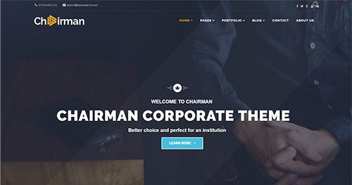 Chairman Joomla Theme