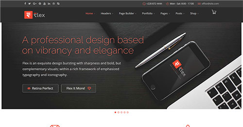 FLEX Joomla Theme