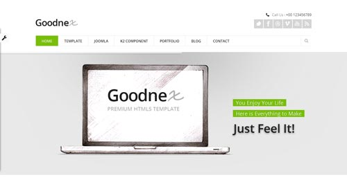 Goodnex Joomla Template