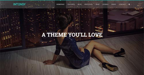 Intensy Joomla Theme