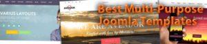 Multi-Purpose Joomla Templates