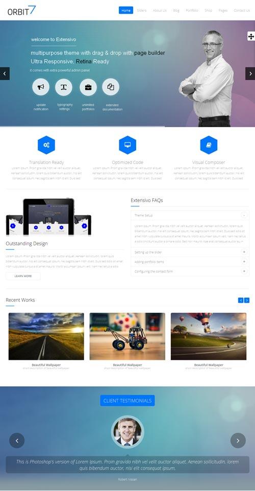 Orbit7 Joomla Template