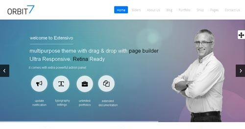 Orbit7 Joomla Theme