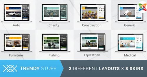 Trendy Stuff Joomla Template