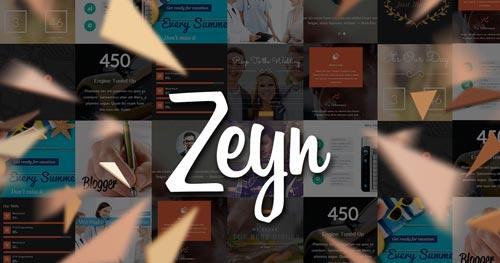 Zeyn Joomla Theme