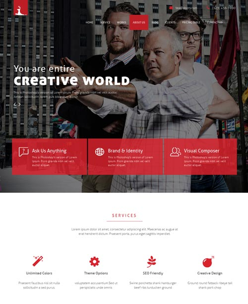 Doors Joomla Template
