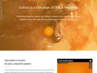 Colony Joomla Theme
