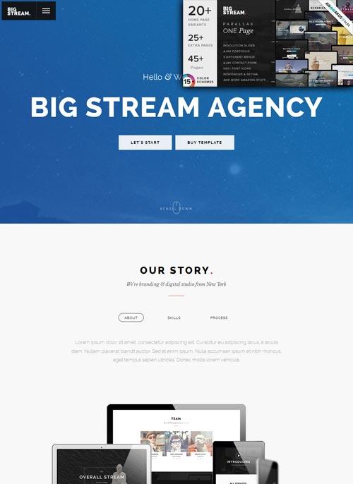 BigStream Joomla Template