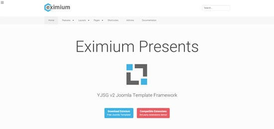 Eximium Joomla Template