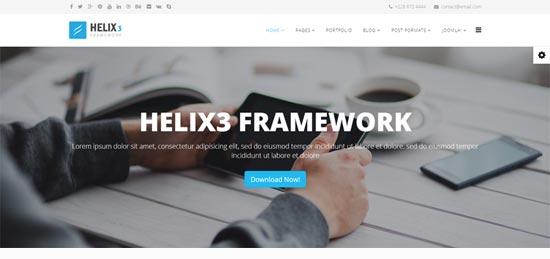 Helix 3 Joomla Template