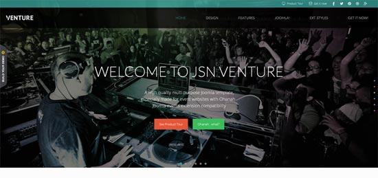 Venture Joomla Template