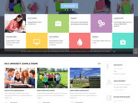 University II Joomla Template