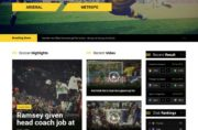 Soccer Joomla Template