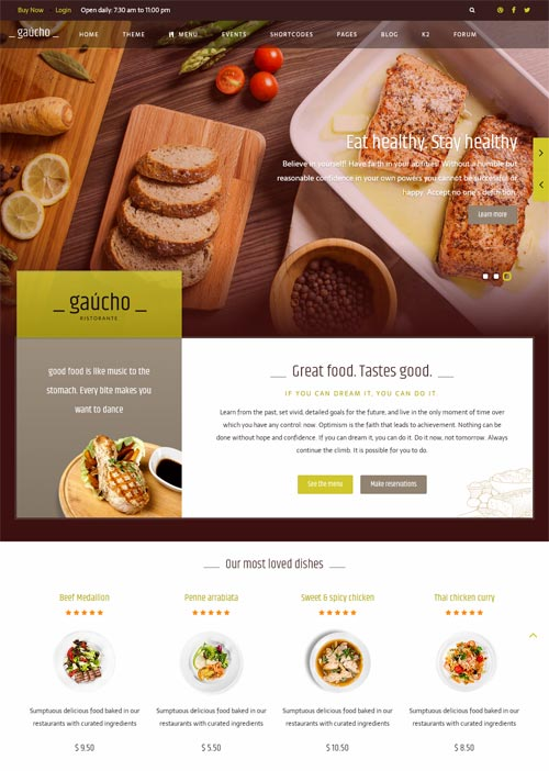 Gaucho business joomla theme free download gaucho joomla template forumfinder Images