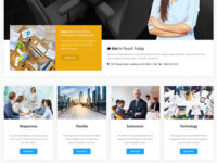 Business Line Joomla Template