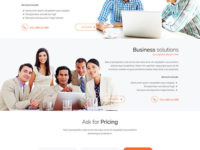 JM Simple Joomla Theme