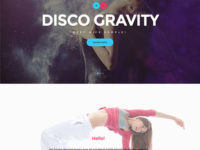 Disco Gravity Joomla Template