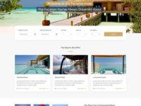 Paradise Joomla Template
