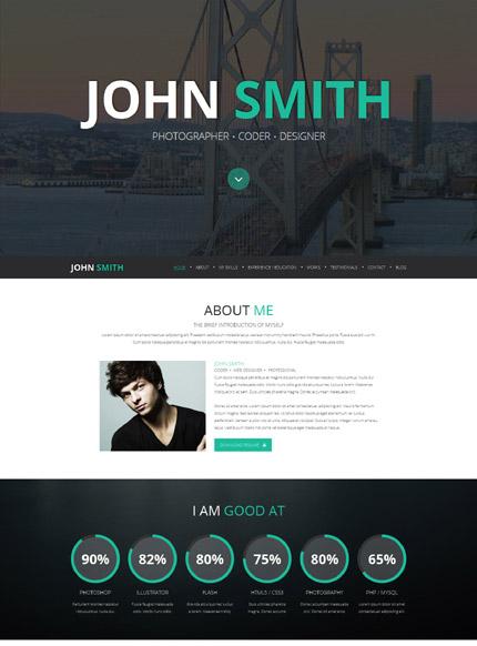 Online Portfolio Joomla Template