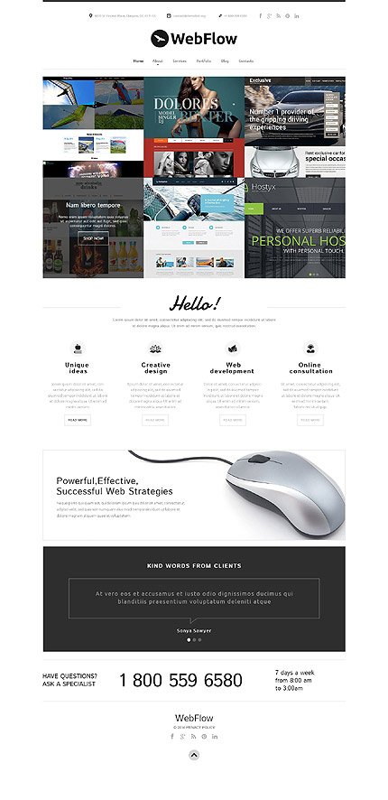 Design Agency Joomla Theme