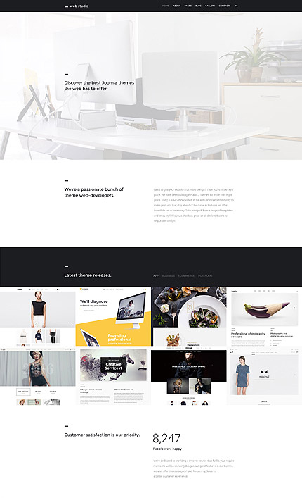 Web Design Joomla Theme