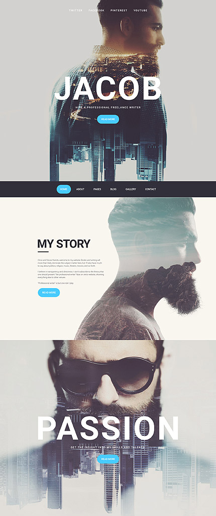 Photographers Joomla Theme