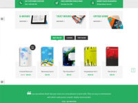 Bookstore Joomla Template