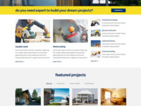 BrickPress Joomla Template