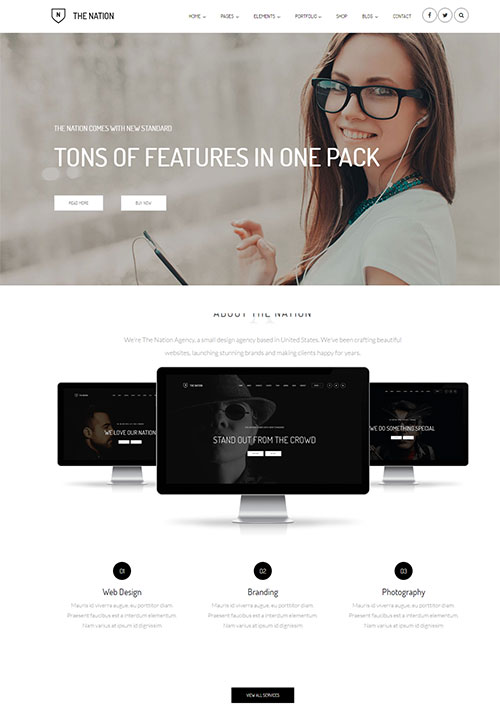Nation Joomla Template