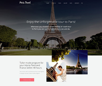 Travel Joomla Theme