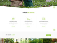 landscaping Joomla Template
