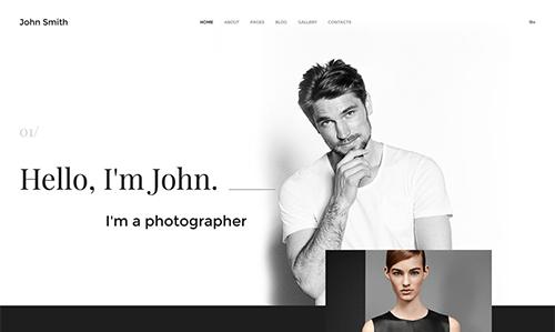 Personal Page Joomla Theme