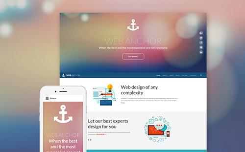 Website Design Joomla Template
