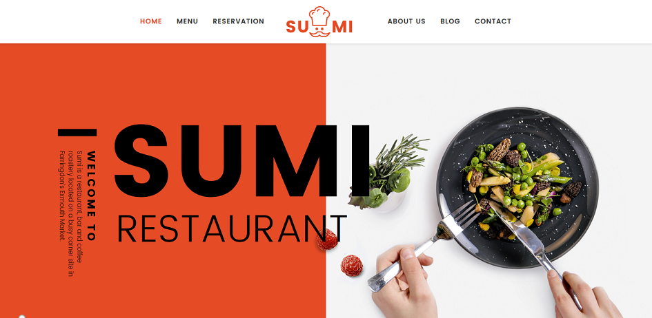 21 best restaurant joomla templates 2018 jooexplorer sumi is a drag drop restaurant joomla template if you want to build a clean and modern design website sumi is a clean and professional site template forumfinder Images