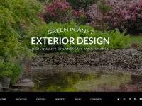Exterior Design Joomla Template