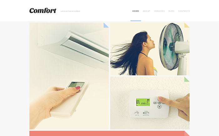Air Conditioning Systems Joomla Template