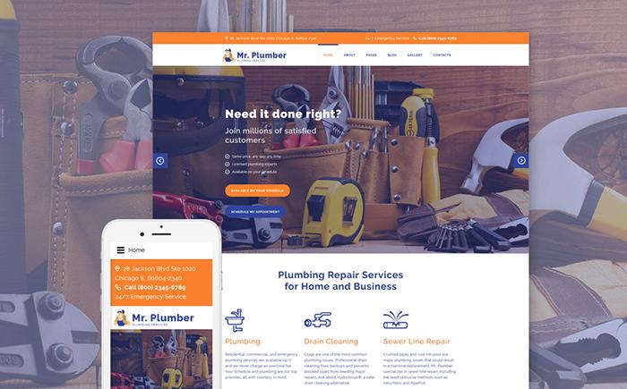 Joomla Maintenance Services Templates