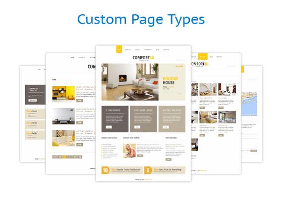 Custom Page Types